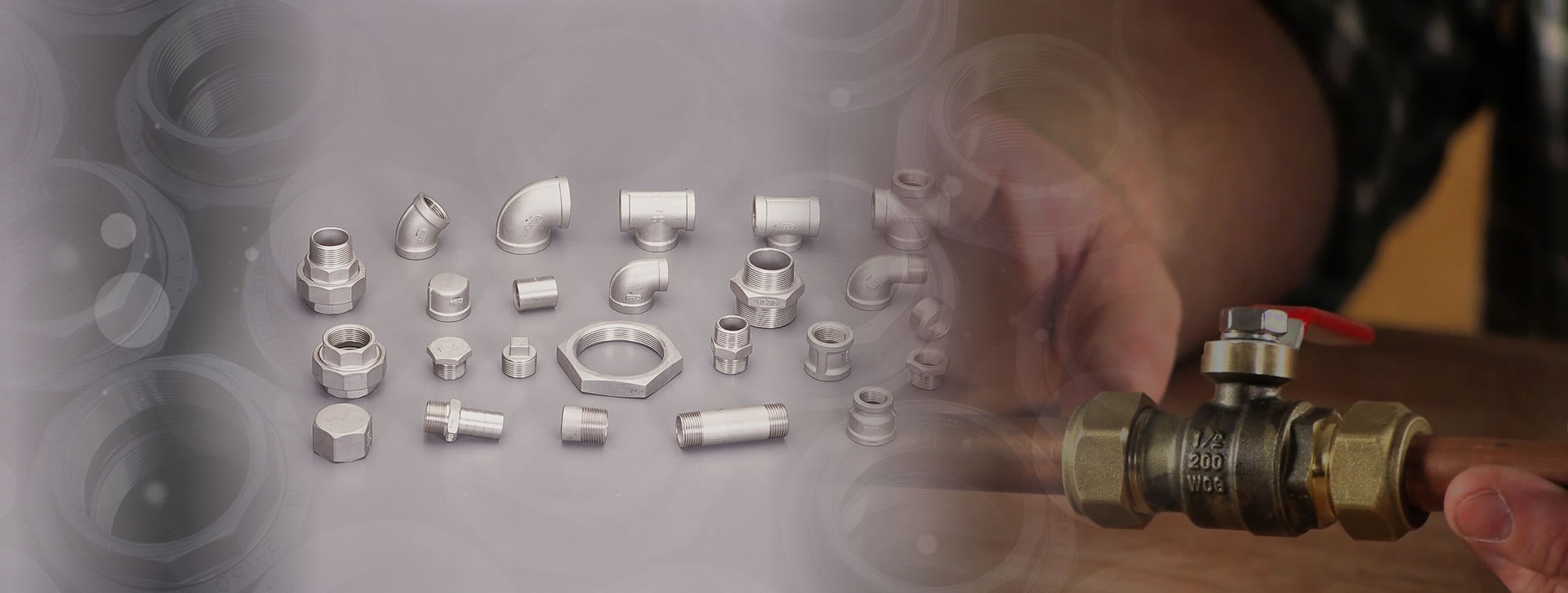Ductile and Stainless Steel Screwed Fittings